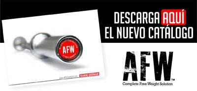 Nuevo Catálogo AFW 2015