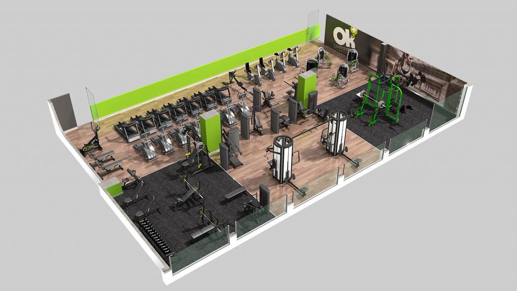 Centro Deportivo OKMAS Fitness