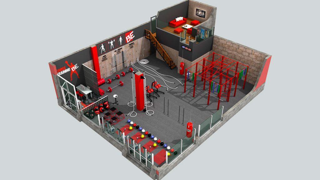 Diseño de Gimnasios CrossFit