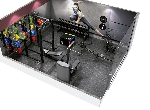 equipamiento gimnasio hosteleria
