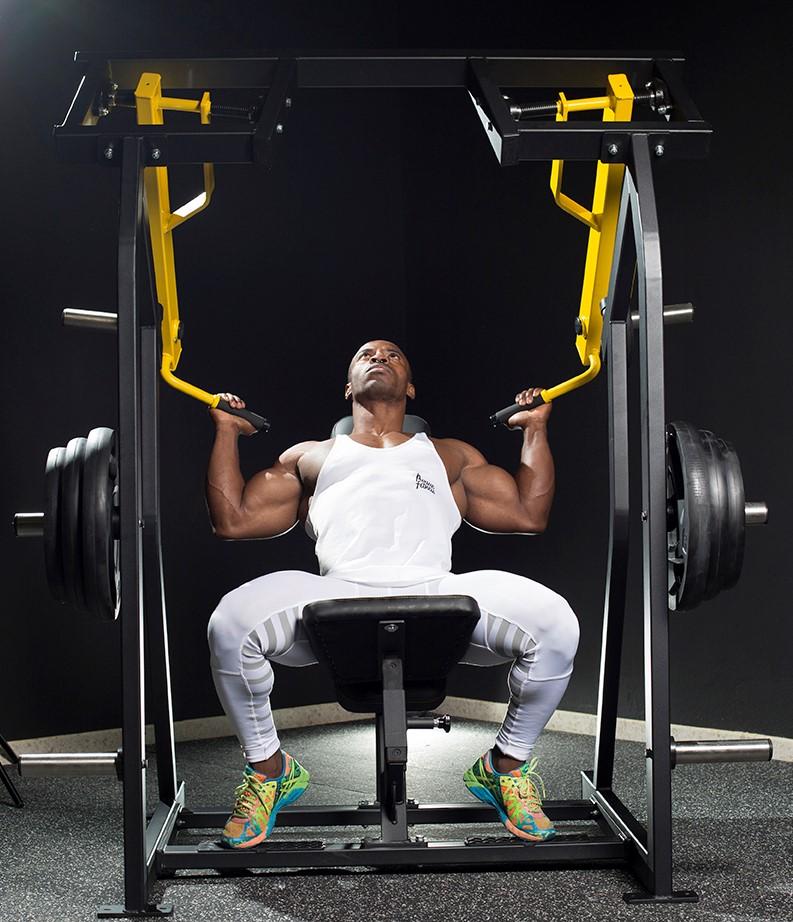 Palancas maquinas de gimnasio profesional
