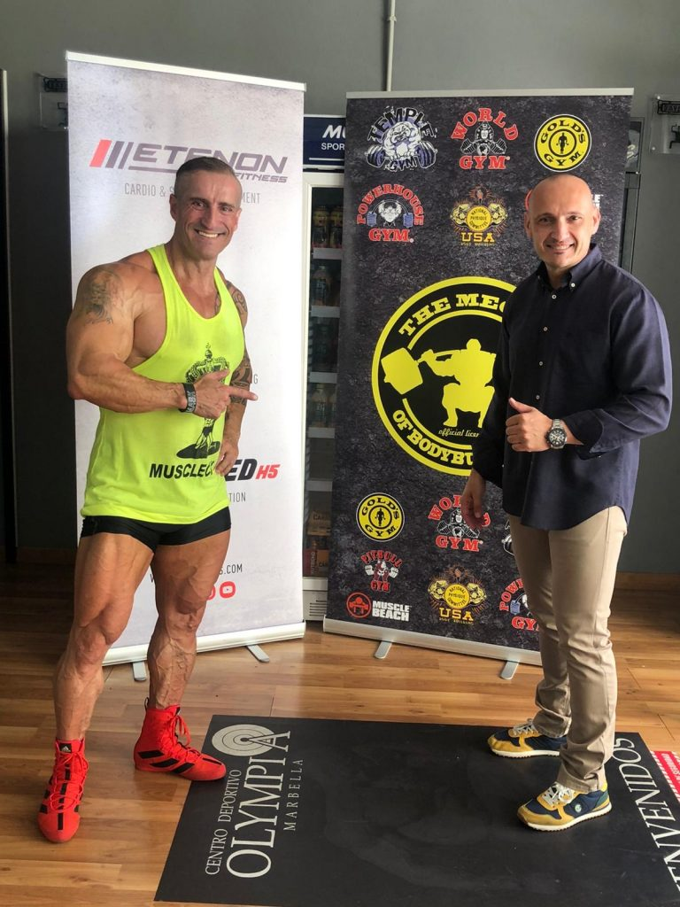 Alberto Machado y Rafael Rodriguez Etenon Fitness