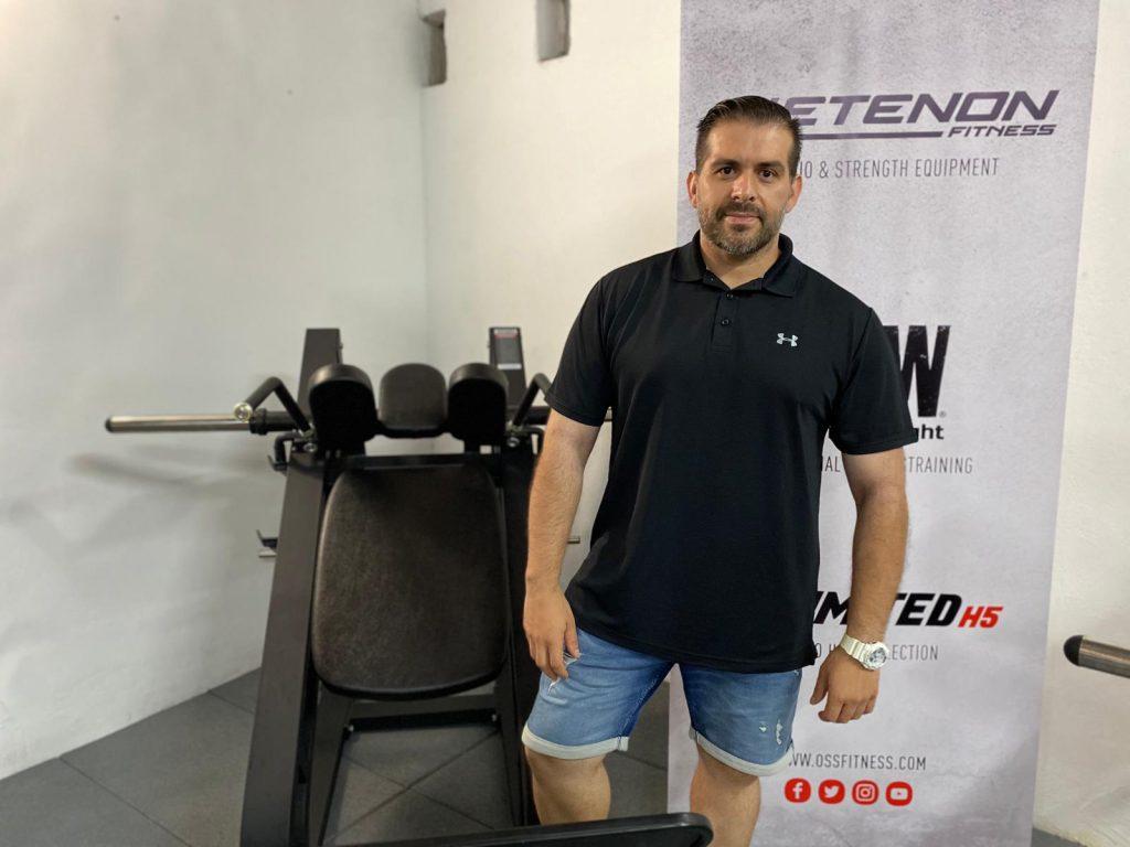 Francisco Espín asesor de Oss Fitness