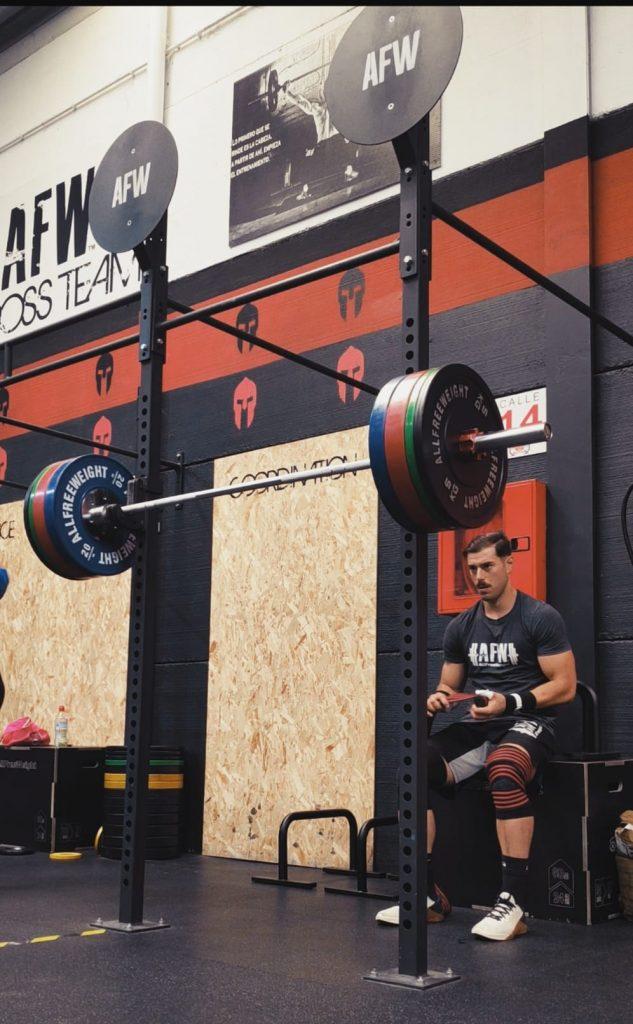 Javier Bonilla Martínez atleta de AFW