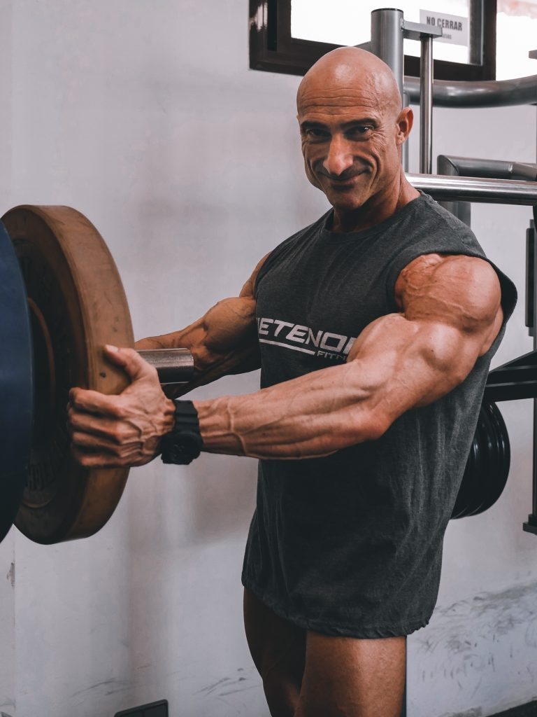 Xisco Serra entrenando
