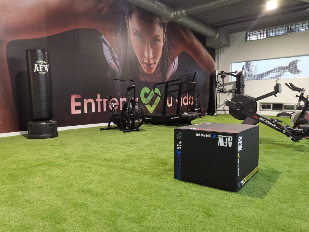 Sano Fit Málaga, equipado por oss fitness