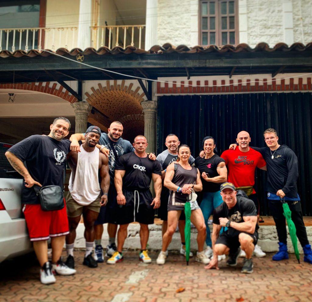 atletas del equipo de Etenon Fitness