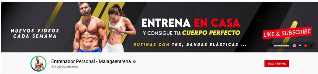 Malagaentrana canal youtube