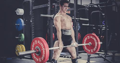 entrenamiento crossfit con barras de gimnasio allfreeweight