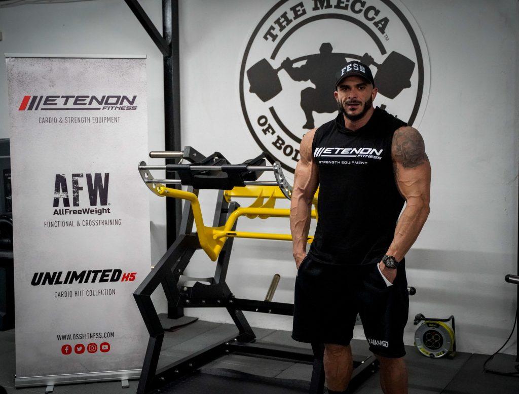 Fede Guevara, atleta etenon fitness