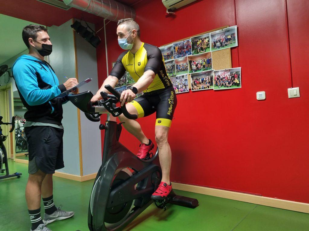 entrenamiento de indoor cycling