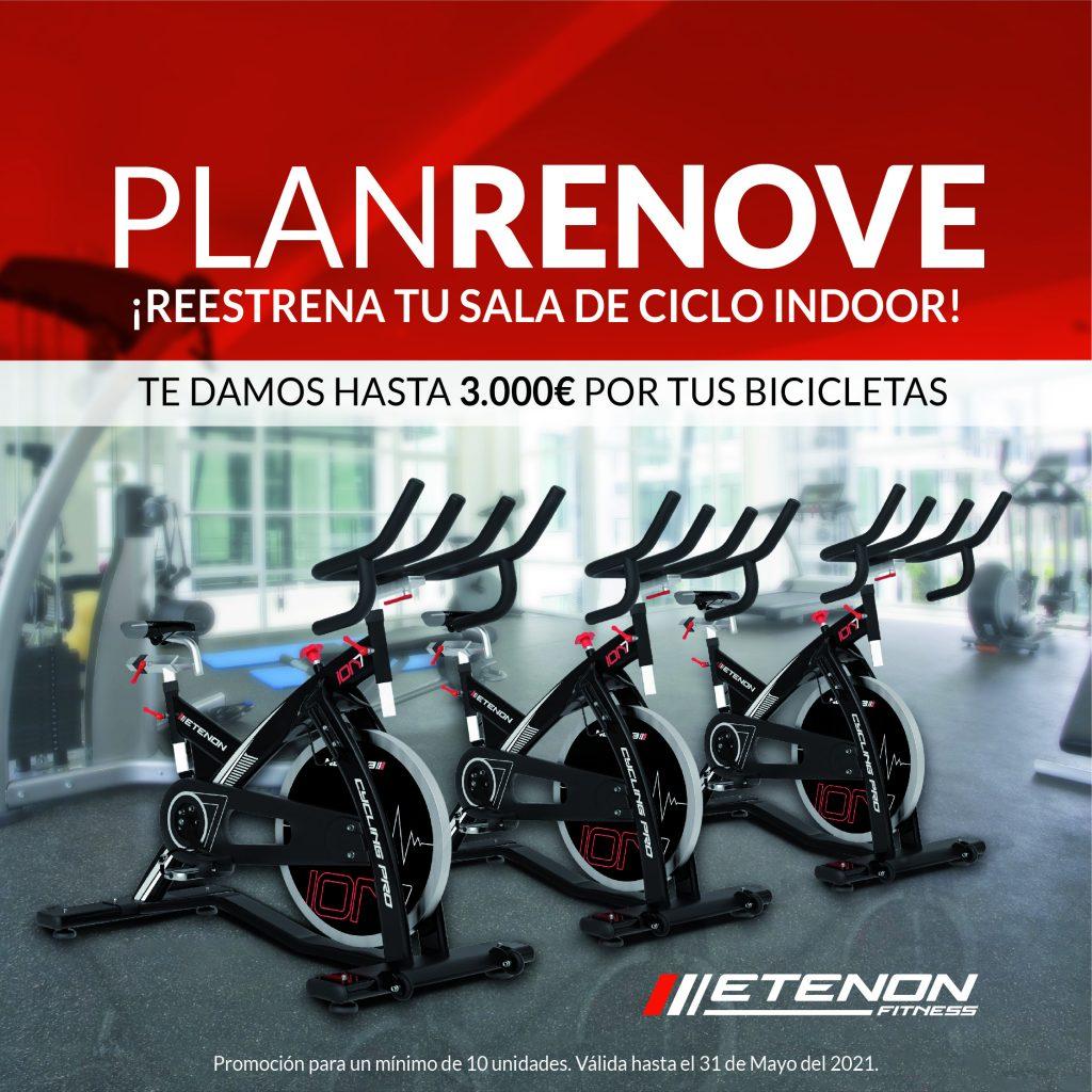 Plan Renove Bicicletas ciclo indoor