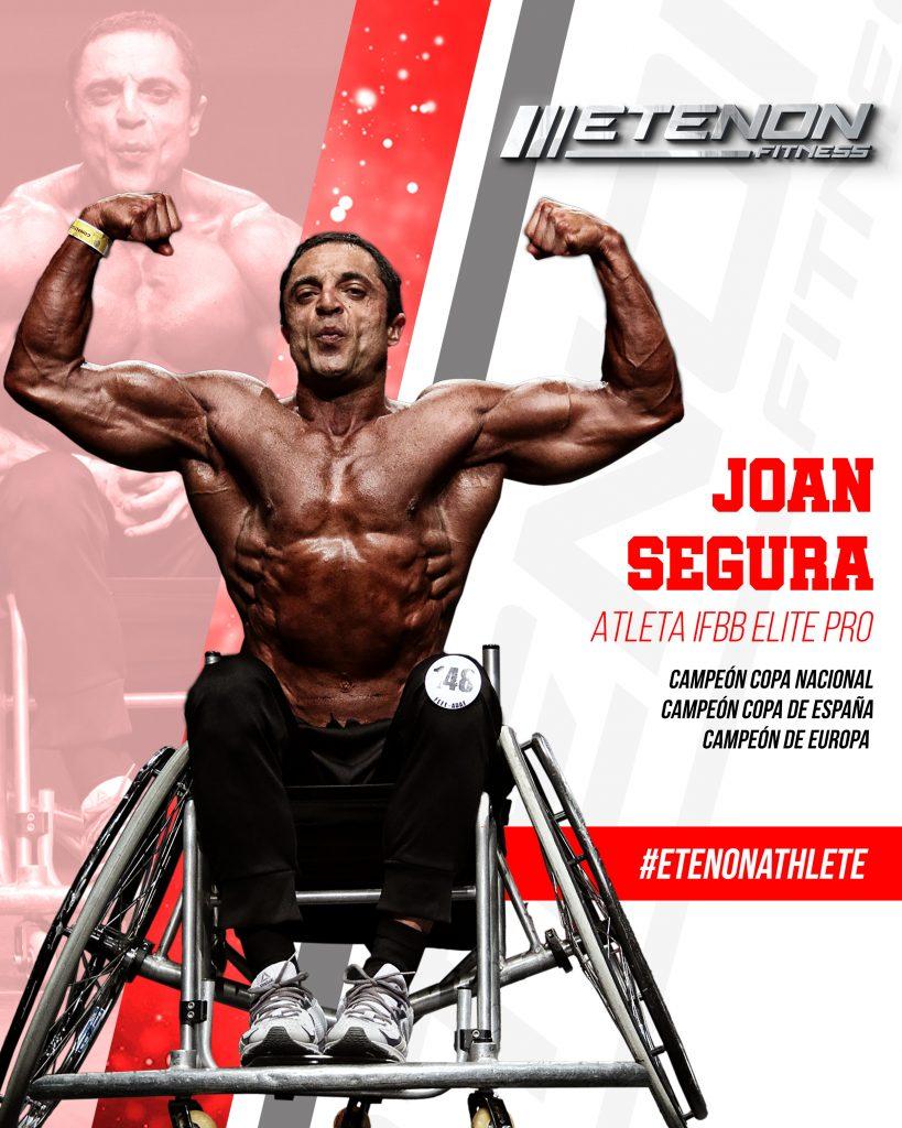 Joan Segura atleta ifbb elite pro