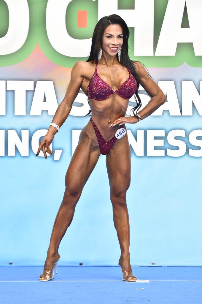 Lina Bejarano, campeona del Mundo IFBB amateur