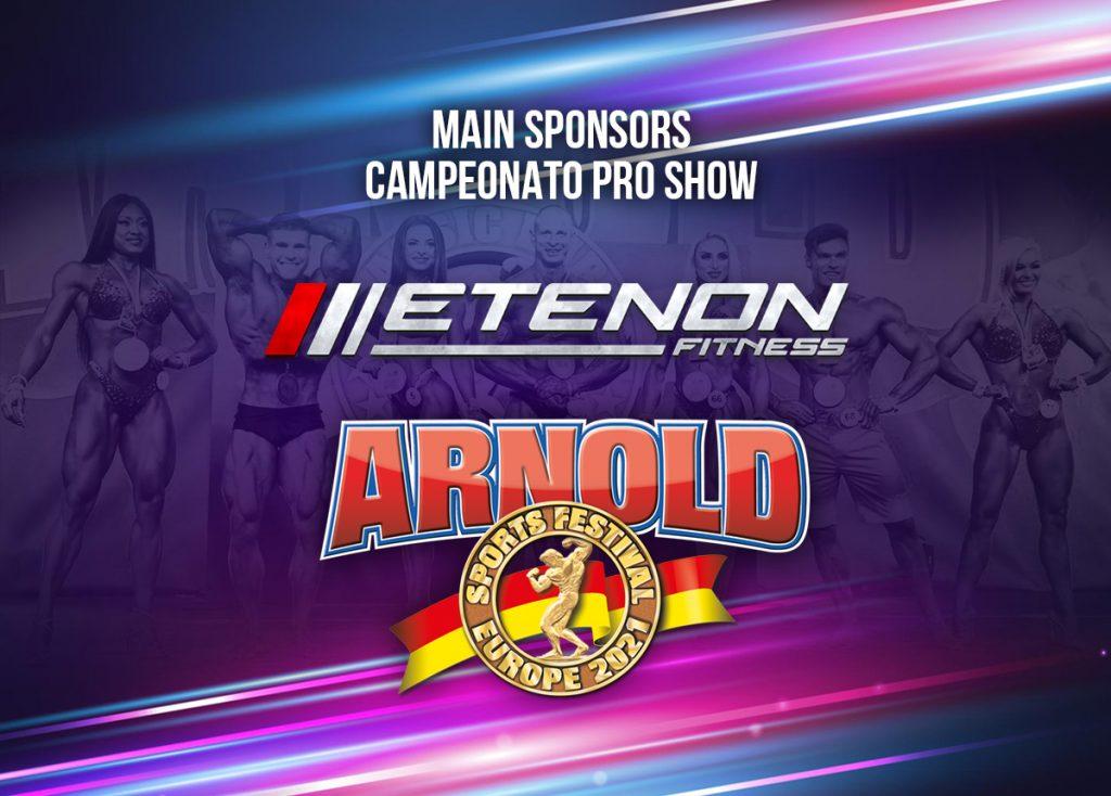 Etenon Fitness patrocinador principal Pro Show de Arnold Classic