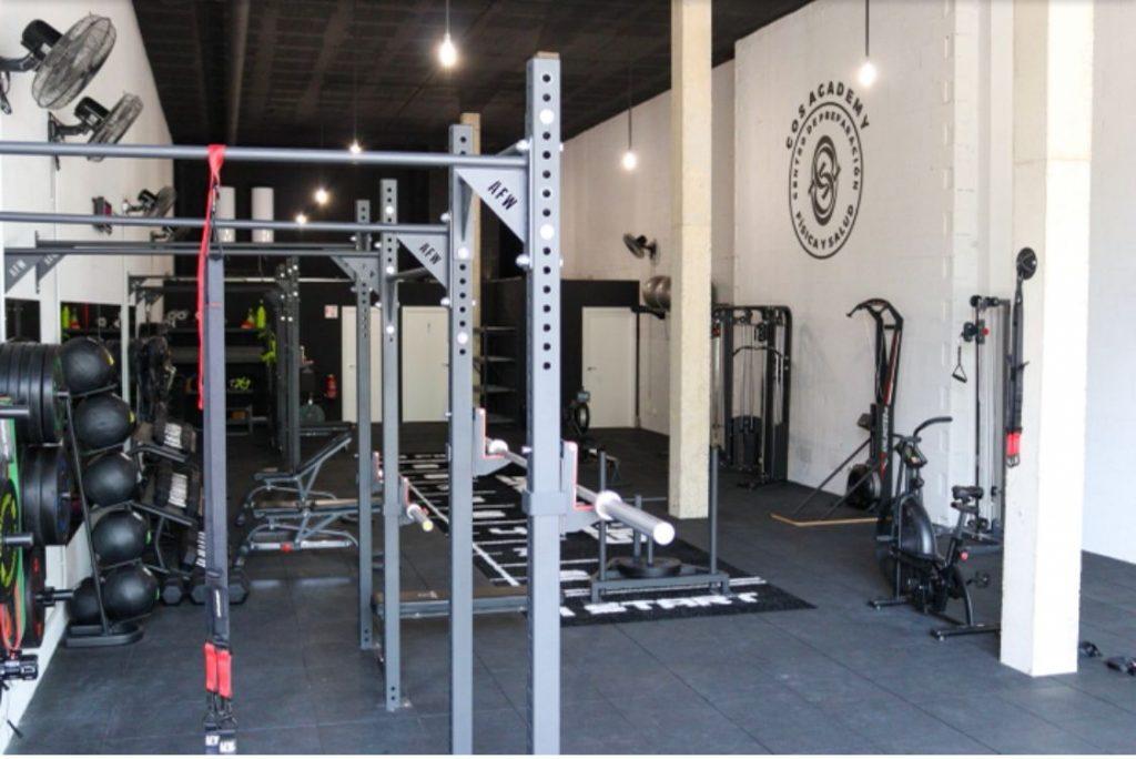 equipamiento de gimnasios con allfreeweight