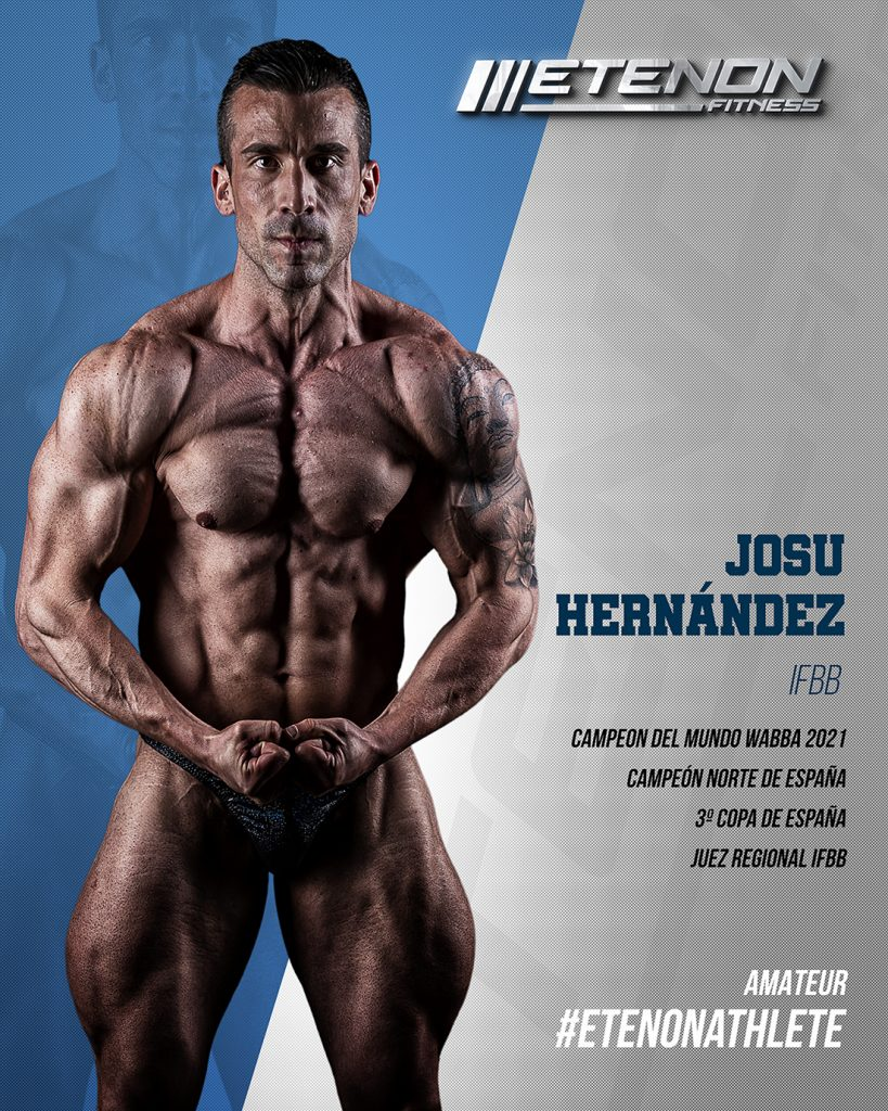 Josu Hernandez cultirismo etenon fitness