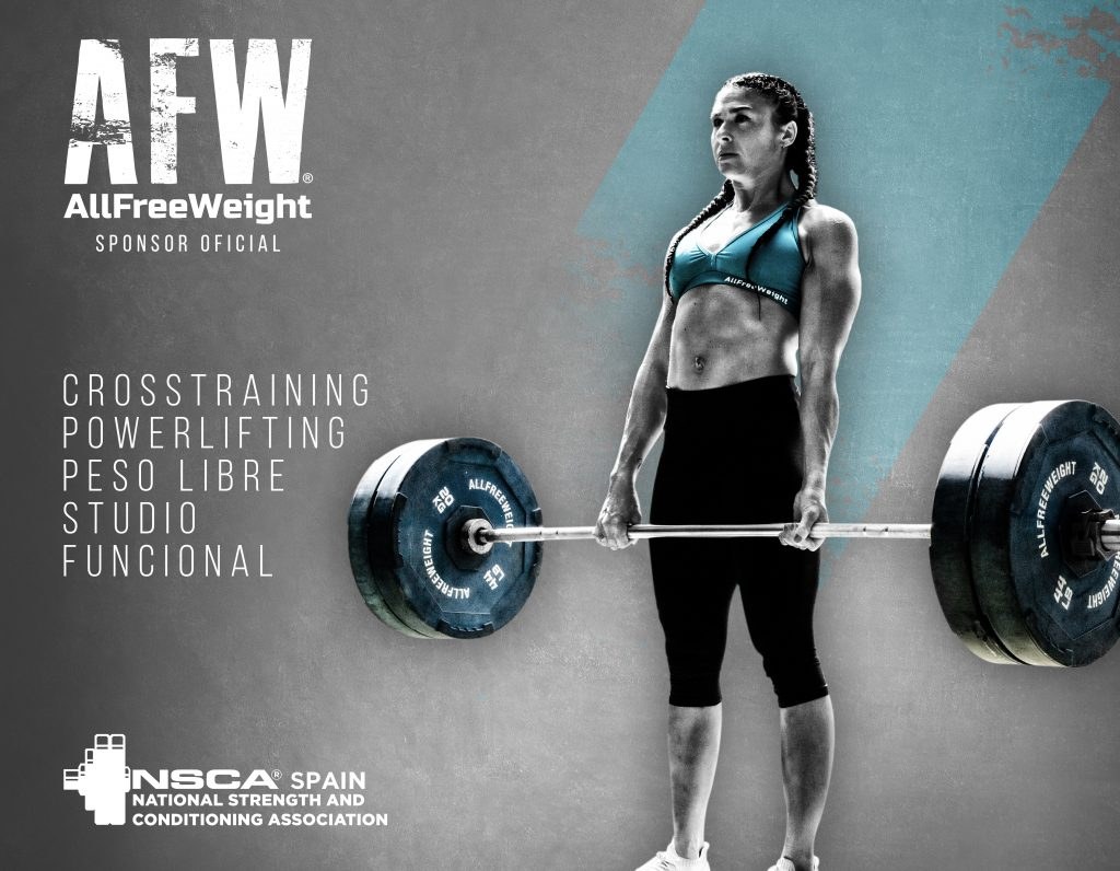 AllFreeWeight sponsor oficial NSCA Spain