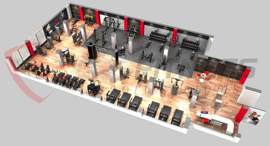 zona-cardio-y-maquinas-en-gimnasio-fuengirola-malaga